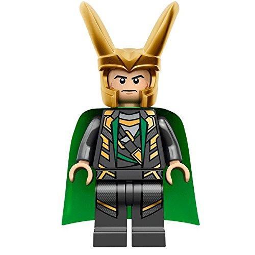 LEGO Compatibili Loki Laufeyson Dio delle Malefatte Dio dell'Inganno Dio degli Inganni Dio del Male Marvel Super Heroes Mini Action Figure