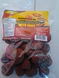 Tamarind Balls with Chili 100% natural Dulce De Tamarindo with Chili spicy 8 oz