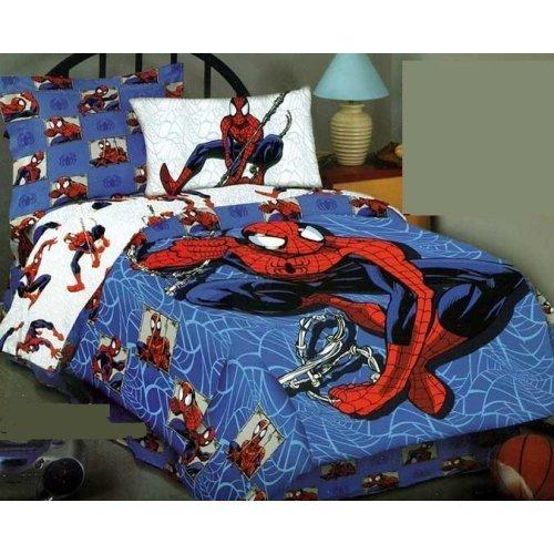 Spiderman Cityscape Full Comforter