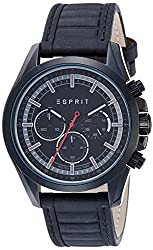 Esprit Analog Black Dial Mens Watch-ES109161004