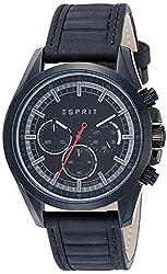 Esprit Analog Black Dial Mens Watch-ES109161004