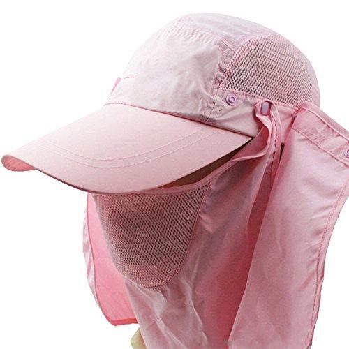 ezyoutdoor-1-piece-unisex-pure-color-outdoor-sport-360-degree-summer-sun-quick-drying-sunscreen-uv50