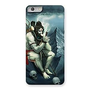Delighted Shiva Multicolor Back Case Cover for Micromax Canvas Knight 2