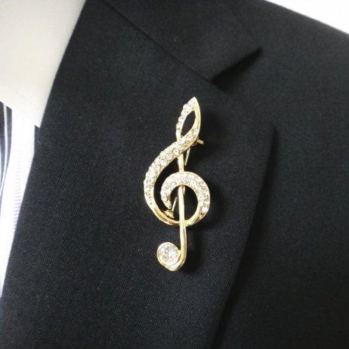 两种颜色的领章高音谱号,代购日本,国外代购