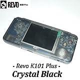 REVO K101 Plus「カラー:クリスタルブラック」GBA互換機本体 / GBAロムカートリッジが使えてAV出力ができる! ゲームボーイアドバンス互換機本体 GAMEBANK-web.comオリジナル[1170] [並行輸入品]