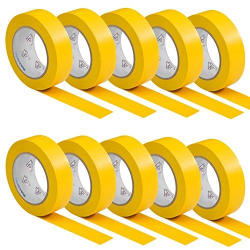 10-rotoli-vde-nastro-isolante-elettrico-pvc-nastro-adesivo-15mm-x-10m-din-en-60454-3-1-colore-giallo