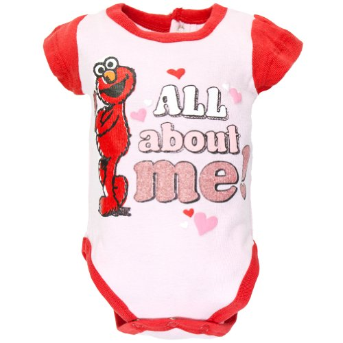 Sesame Street - All About Me Baby One Piece