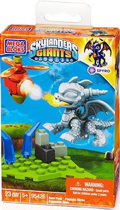Mega Bloks Skylanders Metallic Spyro Building Pack - 1