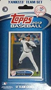 New York Yankees 2012 Topps Factory Sealed 17 Card Limited Edition Team Set Including Derek Jeter, Alex Rodriguez, Robinson Cano, CC Sabathia, Yankee Stadium and More. Cards Are Numbered NYY1 Through NYY17 and Are Not Available in Packs!