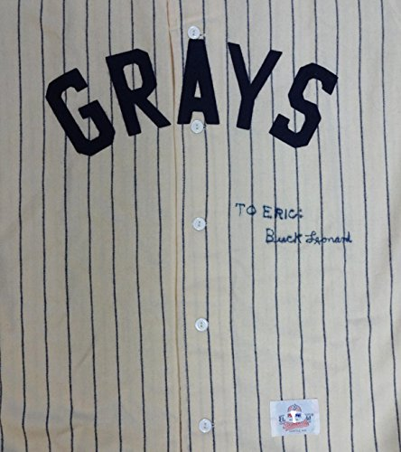 Buck Leonard Autographed Homestead Grays Jersey