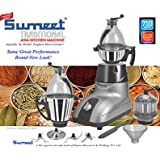 Sumeet SMT-Asia 110V Traditional Asia Kitchen Machine Mixer Grinder, Silver