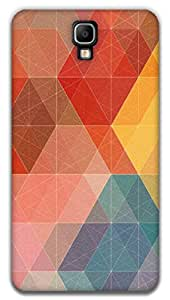 The Racoon Grip printed designer hard back mobile phone case cover for Samsung Galaxy Note 3 Neo. (Geometric)