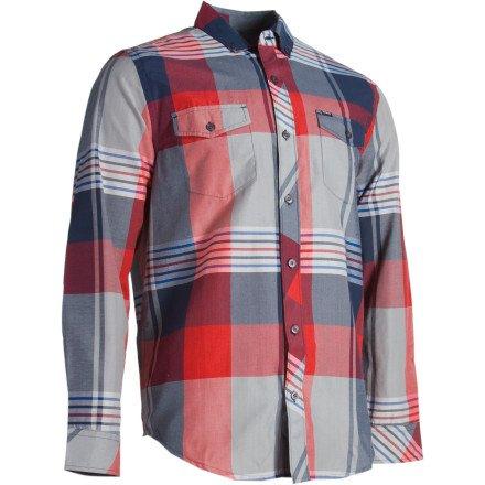 Hurley Adelaide Shirt - Long-Sleeve - Men's Redline, S