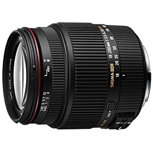 Sigma 18-200mm f/3.5-6.3 11 DC OS HSM Lens for Canon