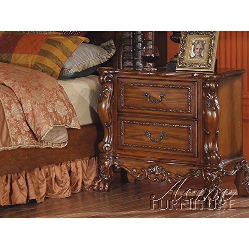 Night Stand Oak front-1068698
