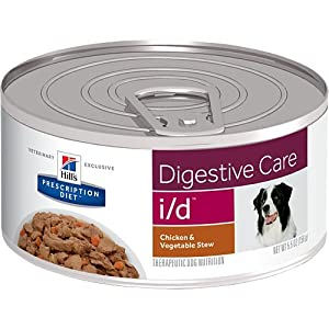 Hill's Prescription Diet i/d Digestive Care Chicken & Vegetable Stew Canned Dog Food 24/5.5 oz