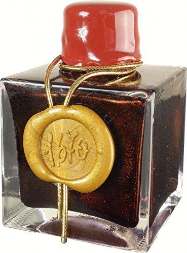 Georges Lalo Flacon d'encre Anniversaire J Herbin 1670 50 ml Rouge