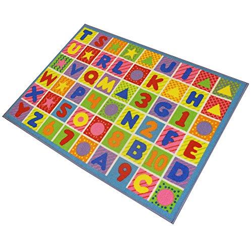 JVL - Alfombra de juego para niños (80 x 110 cm)