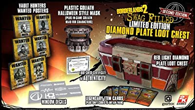 Borderlands 2 Swag-filled Limited Edition Diamond Plate Loot Chest Version 2