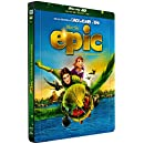 Epic - La bataille du Royaume Secret [Combo Blu-ray 3D + Blu-ray + DVD - Édition boîtier SteelBook]
