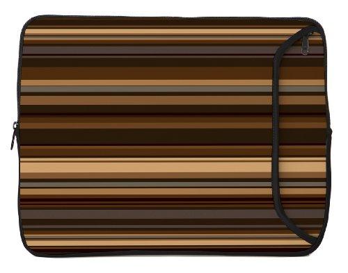 Designer Sleeves 13-Inch Coffee Laptop Sleeve, Brown (13DS-COF)