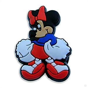 Amazon.com: style your crocs, Fun Clips Minnie mouse Cheerleader #1517