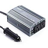 Car Inverter, LESHP 400W Power Inverter DC 12V to AC 110V AC220V Converter with 2.1A Dual USB Car Adapter