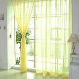 FUT(エフュ ト) クリスマスロマンチック軽い薄い遮光遮熱視線カット自然の風を通しロングカーテン1ペア幅100cm*丈200cm12色