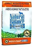 Natural Balance L.I.D. Limited Ingredient Diets Sweet Potato & Fish Formula Dry Dog Food, 26-Pound