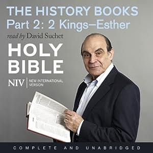 NIV Bible 3: The History Books - Part 2 Audiobook