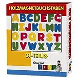 Roba 0022 - Holzmagnetbuchstaben 31teilig hergestellt von roba Baumann