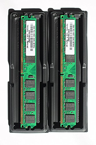 4GB kit (2x2GB) DDR2 PC2-5300 DESKTOP Memory Modules (240-pin DIMM, 667MHz) (Memory 5300 compare prices)