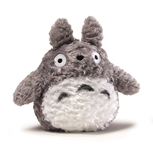 GUND Fluffy Totoro Plush, 6 inches - 1