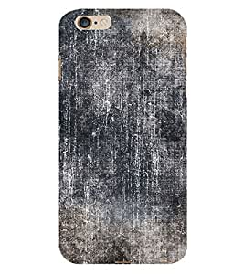 Black Color Wall 3D Hard Polycarbonate Designer Back Case Cover for Apple iPhone 6S Plus