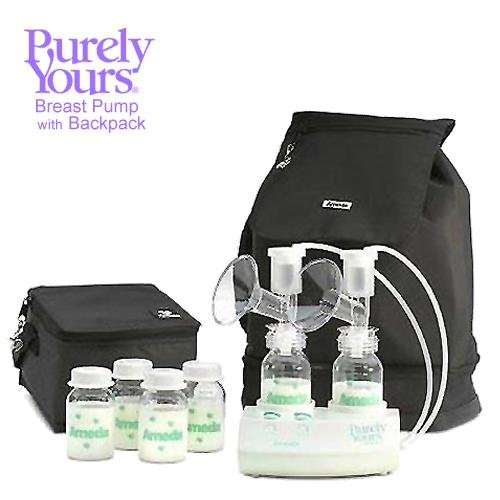 Ameda Purely Yours Carry All Breast Pump Traveler Backpack