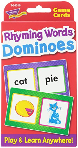 Rhyming Words Dominoes Challenge Cards® - 1