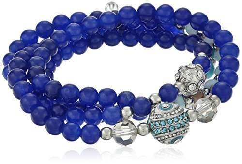 betsey-johnson-betseys-delicates-pave-eye-and-fireball-blue-bead-stretch-wrap-bracelet-28-by-betsey-