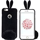 F-EYE® IPhone 6 Cute 3D Rabbit Design Fur Fluffy Protective Shell Skin Back Case Cover For Apple IPhone 6