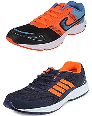 SCATCHITE Combo Pack of 2 Pairs of Men's Sports Shoes