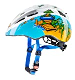 Uvex Croc Kid II Helmet - Multicoloured, 46-52 cm