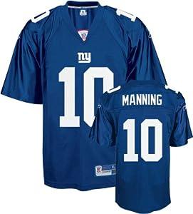Eli Manning New York Giants Blue NFL Premier Jersey by Reebok