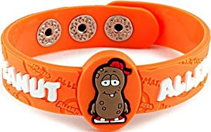 "AllerMates Allergy Wristband - ""P. Nutty"" Peanut"
