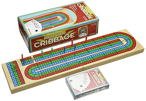 Continuum Games Folding Cribbage with Cards - 1