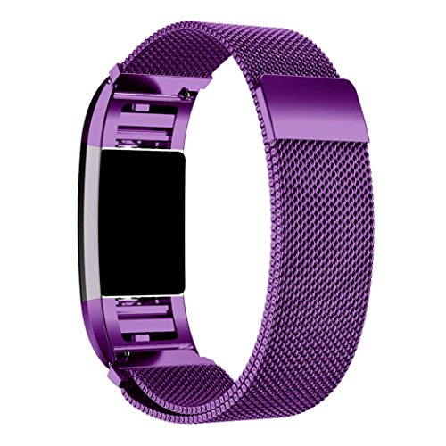 autumnfall-milanese-stainless-steel-watch-band-strap-bracelet-hd-film-for-fitbit-charge-2-purple