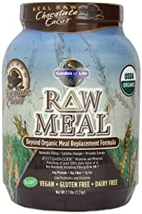 Garden of Life RAW Organic Meal Chocolate , 2.7lbs.(1.2kg.)