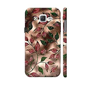 Colorpur Autum Leaves Rosty Metal Designer Mobile Phone Case Back Cover For Samsung Galaxy J2 | Artist: UtART