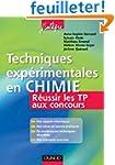 Techniques exp�rimentales en Chimie -...