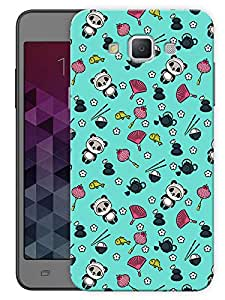"Humor Gang Cute Baby Pandas Printed Designer Mobile Back Cover For ""Samsung Galaxy Grand 3"" (3D, Matte, Premium Quality Snap On Case)"