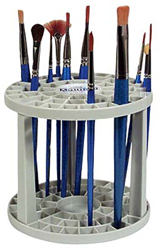 Loew-Cornell 390 Multi Bin Brush Organizer, 50 Hole (Art Brush Storage compare prices)