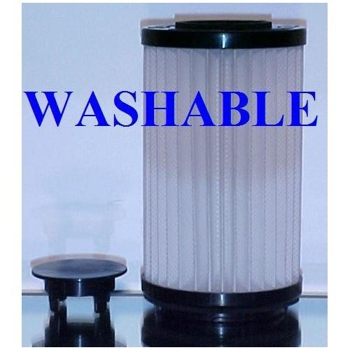 Type DCF-1 / DCF-2 HEPA filter for Kenmore and Panasonic upright bagless vacuum cleaners. Long-Life Washable and Reusable. By Green Label.
